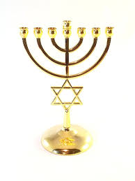 7 branch menorah gold plated menorah 7 branch of david all products