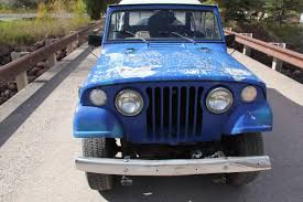 jeep jeepster lifted 1970 jeep jeepster commado classic 4x4