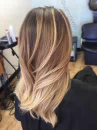 Caramel Hair Color With Honey Blonde Highlights Honey Blonde Golden Blonde Long Hair Balayage Balayage