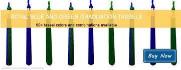 where to buy graduation tassels royal blue and green graduation tassels