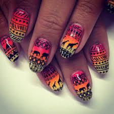 21 aztec nail art designs ideas design trends premium psd