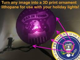 custom glowing 3d printed ornaments 5 steps