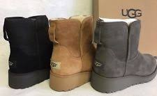 s ugg australia brown zea boots womens ugg wedge boots ebay