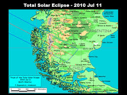 Magnetic Map Of Usa by Nasa Total Solar Eclipse Of 2010 July 11