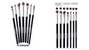 lamora makeup eye brush set review alamal beauty youtube