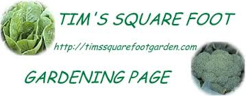 tim u0027s square foot gardening page garden layout
