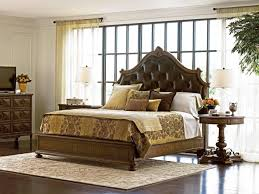 Stanley Kids Bedroom Furniture by Stanley Furniture Villa Fiora Traditional Queen Wood Panel