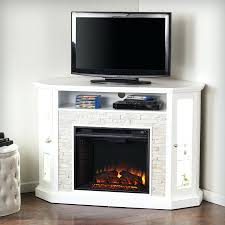 rustic electric fireplace entertainment center media insert image