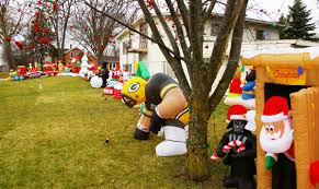 Snoopy Christmas Inflatable Decorations holiday blow up inflatable decorations a christmastime hit
