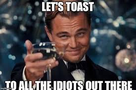 Meme Leonardo - leonardo dicaprio cheers meme imgflip