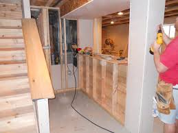 Build Your Own Basement Bar by Cool How To Build A Bar In Your Basement Own Home Basements Ideas