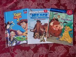 disney lion king toy story 2 ice age children u0027s book lot dinosaurs