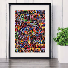 Cheap Framed Wall Art by Online Get Cheap Framed Marvel Pictures Aliexpress Com Alibaba