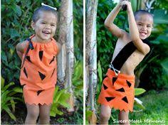 Pebbles Bam Bam Halloween Costumes Twin Family Halloween Costume Bam Bam Pebbles Flintstone