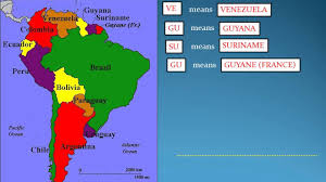 Latin And South America Map by How To Remember World Map Part 1 South American Countries Youtube