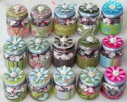 recuerdos de bautizado con frascos de gerber como decorar frascos de gerber imagui reciclado pinterest