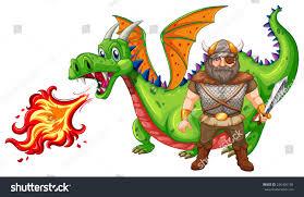 illustration viking dragon stock vector 226496104 shutterstock