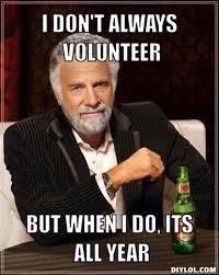 I Volunteer Meme - 23 best volunteer management memes images on pinterest volunteer