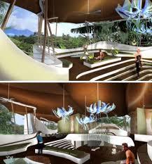 futuristic homes interior futuristic green house interior inspired home interiors