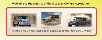mercedes owners uk g wagen owners association