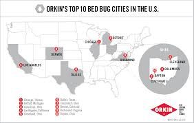 Decatur Illinois Map by List Of Cities Most In Need Of Bed Bug Control U0026 Management