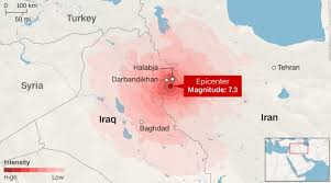 middle east earthquake zone map toll surpasses 300 after earthquake strikes middle east