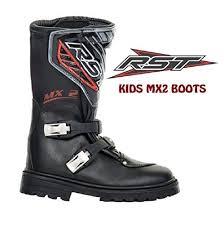 motocross bike boots rst 11 uk kids motocross motorcycle enduro off road riding tourin