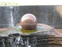 Garden Sphere Balls Rotating Garden Ball Sphere Garden Water Feature Stone Ball