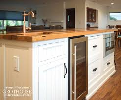 kitchen island counter reclaimed chestnut kitchen island counter in sea cliff ny