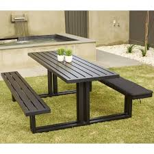 picnic table cover set image of 3 piece fitted picnic table bench covers 3 piece picnic
