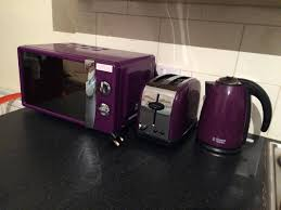 Next Kettle And Toaster Purple Microwave From Next In Leicester Leicestershire Gumtree