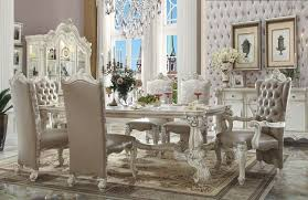 formal dining room set furniture versailles formal dining room set in white