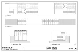 eames house floor plan house plans