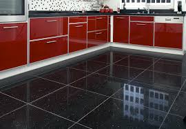 kitchen black tiles for kitchen floor design ideas modern at