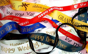 printed ribbon ribbons most common uses