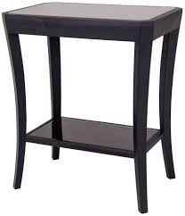 black side table with shelf buy rv astley hyde black side table 1 shelf online cfs uk