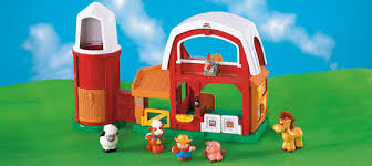 Fisher Price Barn Bounce House Little People Farm Super Cute And We Can Work On Those Animal