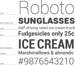 android font roboto a font designed for android