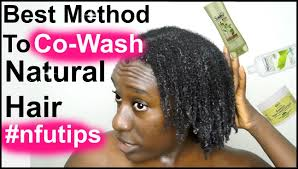 natural hair routine how to co wash or shoo natural hair 4a