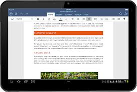 android office microsoft released office for android tablets