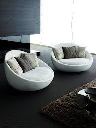 Fantastic Round Sofa Chair Living Room Furniture  Best Round - Curved contemporary sofa living room furniture