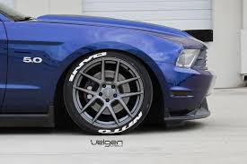 Matte Black Ford Mustang Ford Mustang Gt Velgen Wheels Vmb5 Matte Gunmetal 19x9