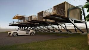 House Plans On Pilings Shipping Container House On Stilts Youtube
