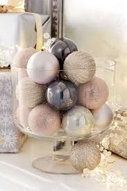 buy set of 20 chagne and mauve baubles from the next uk