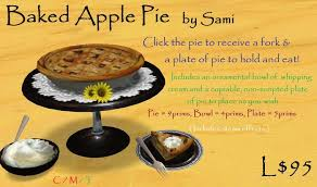 second marketplace thanksgiving sale baked apple pie sale