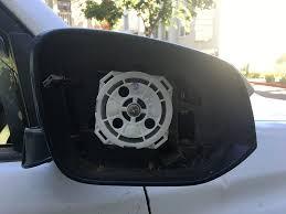 Blind Spot Mirror Where To Put Oem Rav4 Blind Spot Mirror Retrofit Toyota 4runner Forum