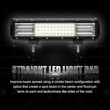 Led Light Bar Driving Lights by 9d Quad Row 1092w Cree 20 U0027 U0027 Inch Led Light Bar Flood Spot Driving