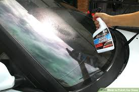 Interior Windshield Cleaning Tool How To Polish Car Glass With Pictures Wikihow