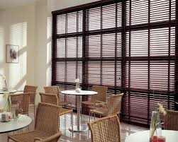 picture blinds for a large window wood blinds wooden window