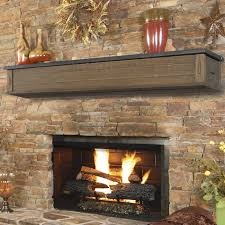 pearl mantels pearl mantels austin 2 drawer fireplace shelf mantel reviews